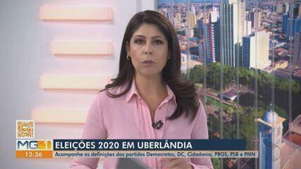 Eleições 2020: Democratas, DC, Cidadania, PROS, PSB e PMN fazem convenção em Uberlândia