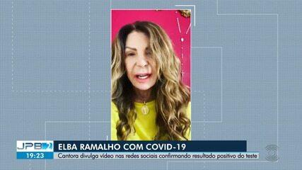 Cantora paraibana Elba Ramalho é diagnosticada com Covid-19