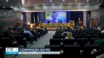 Partido Social Liberal oficializa candidatura do deputado federal Heitor Freire