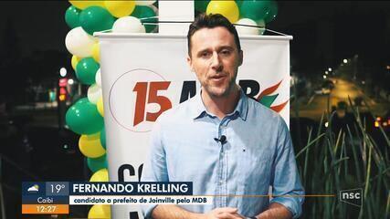 Eleições 2020:MDB define candidato a prefeito em Joinville