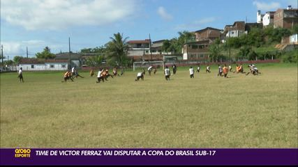 VF4 volta aos treinos e inicia preparação para a Copa do Brasil Sub-17