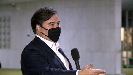 Presidente da Câmara dos Deputados, Rodrigo Maia, está com Covid-19