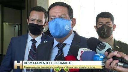 Em setembro, Mourão anunciou que levaria representantes europeus à Amazônia