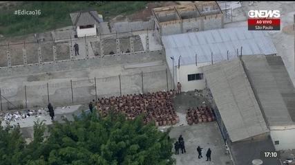 Polícia é chamada para conter tumulto em presídio de SP
