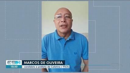 PSol oficializa candidatura de Marcos de Oliveira à Prefeitura de Colatina
