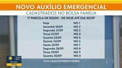Começa nesta quinta (17) o pagamento do novo auxílio emergencial