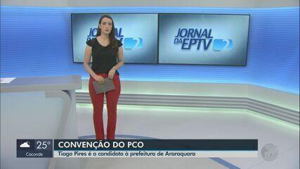 PCO oficializa a candidatura de Tiago Pires à Prefeitura de Araraquara
