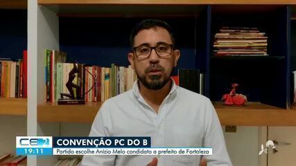 PC do B oficializa candidatura de Anízio Melo a prefeitura