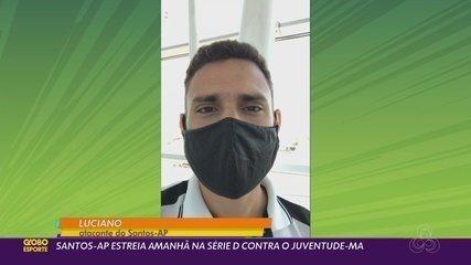 Santos-AP enfrenta maratona em viagem ao Maranhão para estreia na Série D