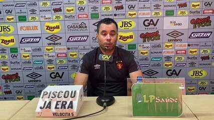 Jair Ventura comenta chegada de Thiago Neves ao Sport
