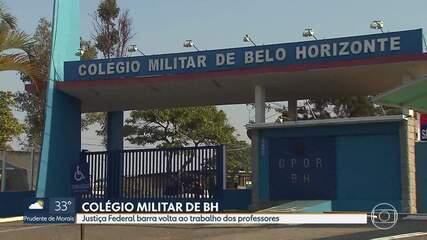 Justiça Federal proíbe retorno presencial dos professores do Colégio Militar de BH