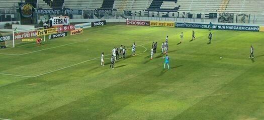 Os gols de Ponte Preta 1 x 1 Operário-PR, pela 10ª rodada da Série B