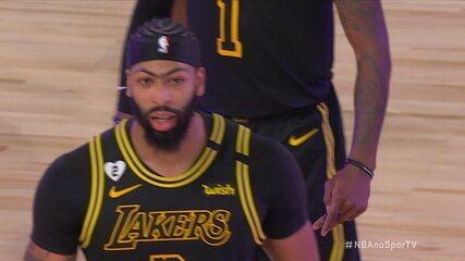 Melhores momentos: Denver Nuggets 103 x 105 Los Angeles Lakers pela NBA