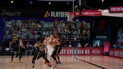 Diário da Bolha traz detalhes do clima quente na vitória dos Lakers sobre os Nuggets no jogo dois da final oeste