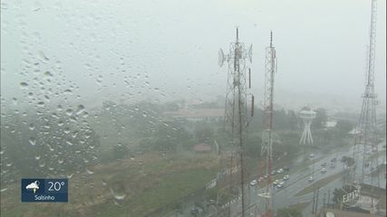 Após 28 dias de estiagem, chuva interrompe estiagem em Campinas