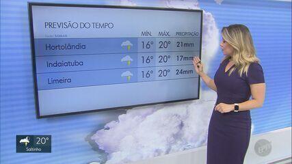 Chegada da primavera derruba temperaturas na região de Campinas; veja a previsão