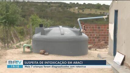 Araci: mais sete crianças que consumiram água contaminada são diagnosticadas com rotavírus