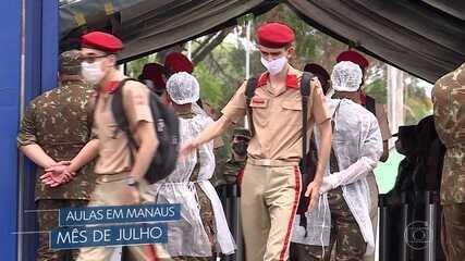 Volta das aulas em colégios militares vai parar na Justiça em Minas e no Rio