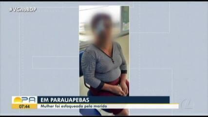 Mulher é esfaqueada pelo marido em Parauapebas, no Pará