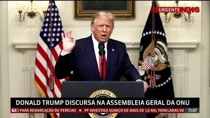 Trump diz que presidentes deveriam colocar seus países em primeiro lugar