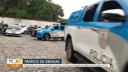 Operação cumpre mandados de prisão contra grupo ligado ao tráfico em Paraíba do Sul