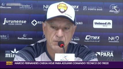 Treze anuncia Márcio Fernandes como treinador para a sequência da Série C