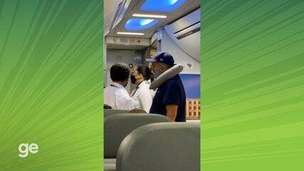 Dirigentes do Imperatriz se envolvem em confusão em avião