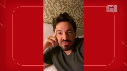 Sertanejo Fernando fala sobre acidente em rodovia