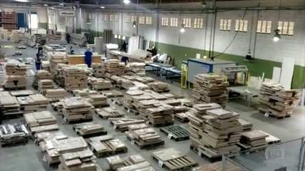 Produção industrial vem dando sinais de recuperação no trimestre; veja reportagem