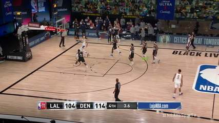 Melhores momentos: Denver Nuggets 114 x 106 Los Angeles Lakers, pela NBA