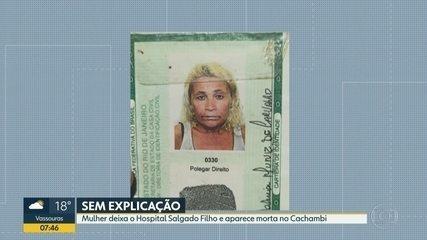 Paciente do hospital Salgado Filho é encontrada morta no Cachambi