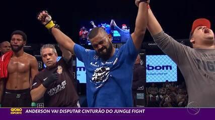 Anderson vai disputar cinturão do Jungle Fight