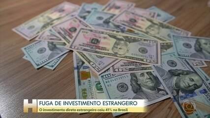 Investimento estrangeiro tem saída intensa do Brasil pela instabilidade política do país