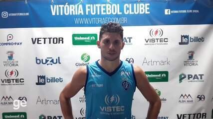 João Denoni fala da primeira partida em casa do Vitória-ES na Série D 2020