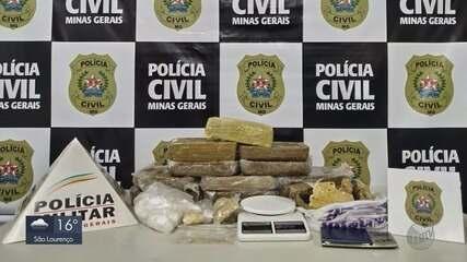 Polícia Civil prende suspeitos de tráfico e latrocínio em Pouso Alegre