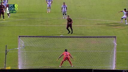 De pênalti, Maidana marca gol da vitória do Sport sobre o Corinthians