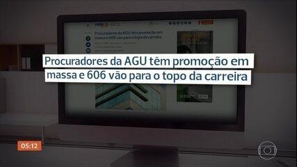 Promoção em massa leva procuradores da AGU ao topo da carreira com salário de R$ 27 mil