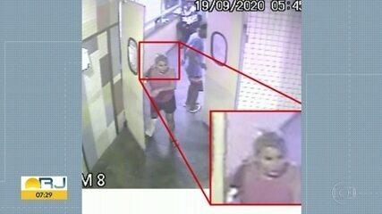 Imagens mostram paciente deixando o hospital Salgado Filho, antes de ser encontrada morta