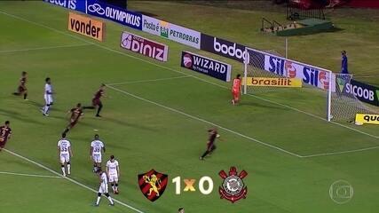 Sport vence Corinthians na 12ª rodada do Campeonato Brasileiro