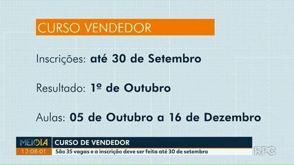 Senac oferece curso de vendedor de graça em Foz do Iguaçu