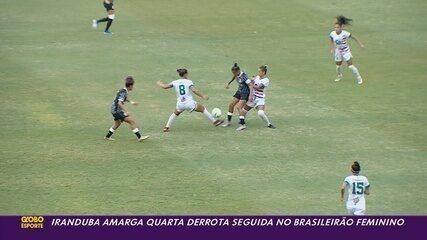 Iranduba perde para o Corinthians e amarga quarto revés no Brasileiro feminono