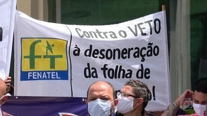 Sindicalistas pedem que seja prorrogada redução de imposto sobre folha de empresas