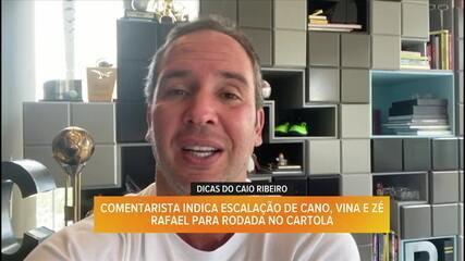 Confira as dicas de Caio Ribeiro no Cartola para a 12ª rodada do Brasileirão