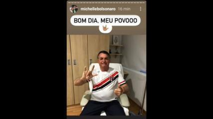 Bolsonaro tem sonda retirada após cirurgia na bexiga