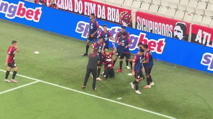 Gol do Athletico-PR 1 x 0 Bahia pela #12ª rodada do Brasileirão 2020.