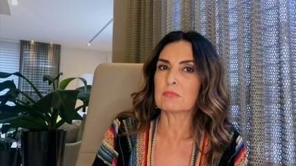 Fátima Bernardes conta como lida com as fake news e comenta a situação atual do país