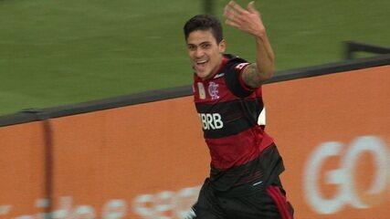 Gol do Flamengo! Arrascaeta cruza na medida e Pedro empata, aos 10 do 2º tempo