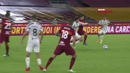 Os gols de Roma 2 x 2 Juventus pelo Campeonato Italiano