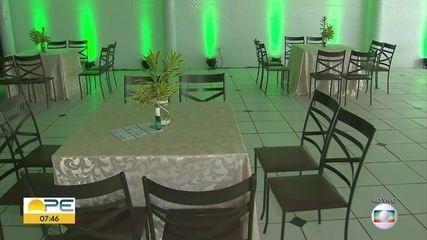 Veja regras para a realização de festas, casamentos e batizados em Pernambuco