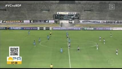 Botafogo-PB 1 x 1 Paysandu: veja os melhores momentos do jogo na Paraíba